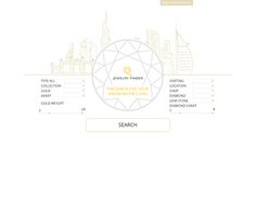 """Check out new work on my @Behance portfolio: """"Elegant Website Design for Jewelry"""" http://be.net/gallery/47302459/Elegant-Website-Design-for-Jewelry"""