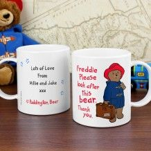 Personalise the front of this 'Paddington' ceramic mug with a name and a message on the reverse over 4 lines of up to 20 characters per line. Christmas Stocking Fillers, Christmas Gifts, Birthday Messages, Birthday Gifts, Paddington Bear, Childrens Gifts, Practical Gifts, Cute Bears, Christmas Morning