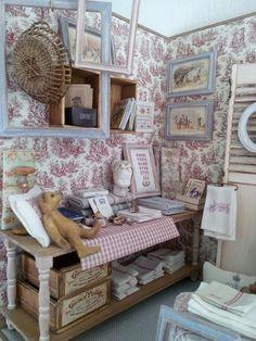 Pretty miniature shop