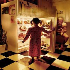 """""""I try to present the images within the visual grammar of a child."""" 