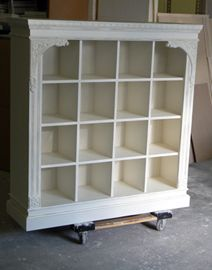 Interior Decorations - Retail Store - Shabby Chic - Display Fixtures Cases. for my shoesss