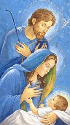Sacra Galeria: Santo Natal do Senhor Christmas Nativity Scene, Magical Christmas, Christmas Scenes, Christmas Time, Merry Christmas, Religious Pictures, Jesus Pictures, Holy Family Pictures, Catholic Art