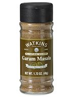 Garam Marsala  Article No. 00649    For over 100 years Watkins has been going the extra mile to find the very best of the world's herbs and spices.When you buy spices from Watkins you get the taste of the world brought to your door step. Our all-natural spices contain only the highest volatile oils and are packaged so that you can enjoy them at optimum freshness.