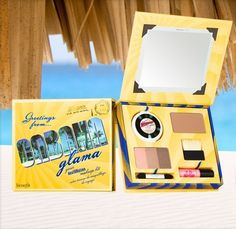 love this one :) peach eyeshadow and hoola are my faves (http://www.gogetgretta.com/benefit-cabana-glama-self-tan-set/)
