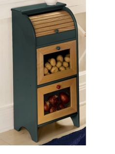 """""""Store it in Style"""" Vegetable Bin from Through the Country Door®"""