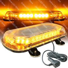 Full size ambulance strobe lights police light bar strobe led light 34w led emergency vehicle tow towing truck strobe warning mini light bar amber aloadofball Image collections
