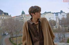 Hwang minhyun behind the scene for Universe MV Nu Est Minhyun, Lil Boy, Produce 101 Season 2, Smile Everyday, Kim Jaehwan, Fans Cafe, Kpop, Reasons To Smile, Pledis Entertainment