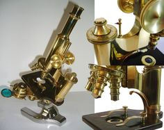 1913 SPENCER ANTIQUE MICROSCOPE w/ Case by MisterMicroscope