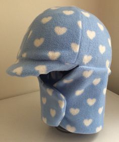 Ready to ship blue and white hearts Equine Horseback Riding Winter Helmet Cover handmade horse tack Equestrian Wear by TheStitchingHorse on Etsy https://www.etsy.com/listing/257222389/ready-to-ship-blue-and-white-hearts