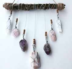 Crystal Mobile - Wall Hanging by Alicia Sarris (aliciasarris) on Bunz