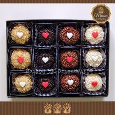 Dia dos Namorados-12 brigadeiros gourmet
