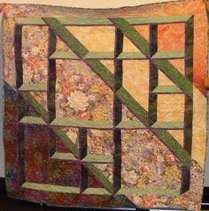 A fantastic 3D quilt design.