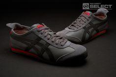Onitsuka Tiger Mexico 66 Mens Shoes - Dark Grey / Black