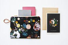 Petite pochette - floral 02 Maison Baluchon AW16