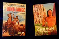 THE CANYON - Jack Schaefer (1957) / LONG LANCE Chief Buffalo Child (1956) Pback