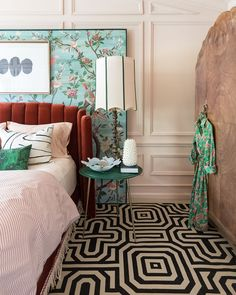 Home Interior Design .Home Interior Design Room Ideas Bedroom, Bedroom Decor, Funky Bedroom, Art Deco Bedroom, Teen Bedroom Designs, Apartment Therapy, Design Furniture, My New Room, Chinoiserie
