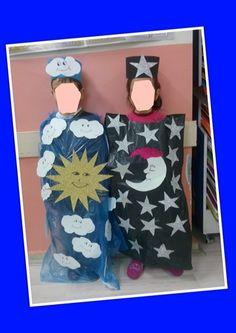 Gece-Gündüz kostümleri Dramatic Play Centers, Plant Lighting, Play Centre, Sistema Solar, Bible Crafts, Science Projects, Preschool Activities, Free Printables, Kindergarten