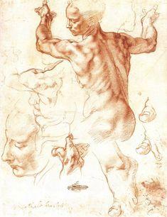 Рисунки Микеланджело. Обсуждение на LiveInternet - Российский Сервис Онлайн-Дневников