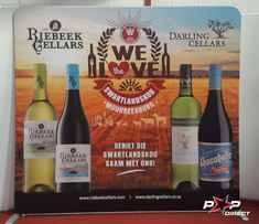#riebeekcellars #darlingcellars Wall Banner, Exhibition Display, Banner Printing, Banners, Pop, Expo Stand, Popular, Pop Music, Banner