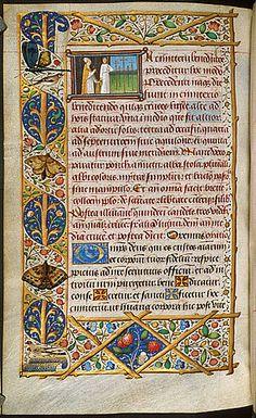 Egerton 1067.  Origin France, Central (Paris) Date c. 1480