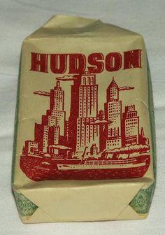 Cigarett, Hudson n:r 405, tillverkad av Svenska Tobaksmonoplet