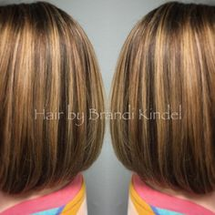 """Big change for my longtime friend Lisa on Saturday ☺️ we cut off about 3"""" and retouched 6"""" of grow out with 2:1 ratio 6NN & 5NGi and highlights using upto7 30V & Olaplex! Beautiful hair for my beautiful friend ❤️❤️❤️"""