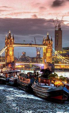 Tower Bridge, London (by David Henderson on 500px)