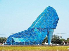 High Heel Wedding Church, Taiwan.