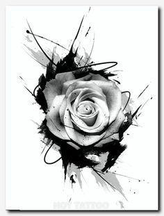 Roses + trash polka - love the added lines Wolf Tattoos, Forearm Tattoos, Body Art Tattoos, New Tattoos, Tribal Tattoos, Girl Tattoos, Arabic Tattoos, Symbol Tattoos, Tribal Henna
