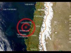 Chile: Dos sismos  de magnitud 5,0 y 5,1 sacuden Chile