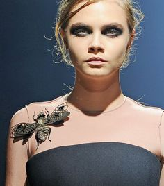On Trend: Insect Jewelry. What do you think about it? Featured Here... Lanvin F/W 13 courtesy of Getty Images