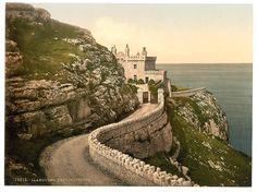 The lighthouse, Llandudno, Wales  c1890s
