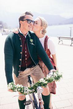 Eine #Vintage-Tracht Hochzeit am #Tegernsee