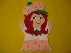 Check out this Strawberry Shortcake puppet. My daughter would go completely nuts for this :)