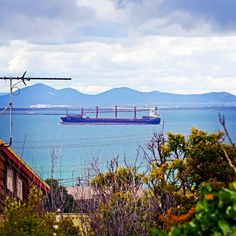 The things you see from Clifton Springs backyards! #geelongrealestatephotography #cliftonsprings #victoria #geelong #ship #youyangs #coriobay #spring #vrca #australia by grpmedia http://ift.tt/1JO3Y6G