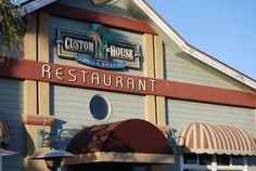 Reason #61: Custom House. Eat fresh seafood at the Custom House located on the Promenade in Avila Beach. They are known for their seafood dishes, innovative cocktails and delicious salads. The best part is while you dine on the patio, you'll enjoy a beautiful oceanfront view. #Discover101