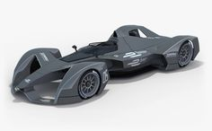 If you weren't amped on Formula E before, take a look at these concept images of what the 2018 cars look like and you just might
