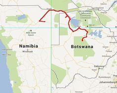 Naar Namibië (2015-09) - http://www.deeindervoorbij.nl/blogs/naar-namibie - De Okavango Delta         Op de camping gooien jongens stokken de hoge palmen in om er de vruchten uit te krijgen. Wij krijgen er ook een paar, maar we kunnen er niets mee. Iedere avond horen we een gigantisch kikkerconcert. We ontmoeten Martin McGowan, de initiatiefnemer van OverlandSphere waar ook wij onze blog publiceren, die al vijf jaar onderweg is en twee Franse gezinnen die met kinderen rondre