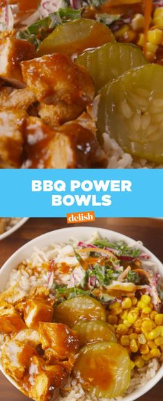 BBQ Power Bowls  - Delish.com