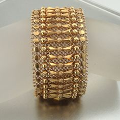 HadarVintage 1940s 18K Yellow Gold Art Deco by HadarVintage, $7889.00