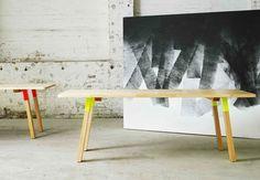 Furniture with Pops of Color by Koskela Photo / Meubelen met kleurplekken door :  Koskela Photo