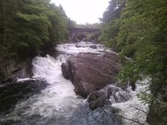 The falls at Invermoriston Campervan, Vw, Scotland, Camping, River, Places, Pictures, Outdoor, Campsite