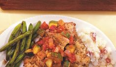 Chicken Thighs with Chunky Tomato Sauce 'n' Potatoes