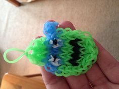 A Leonardo ninja turtle rubber band charm