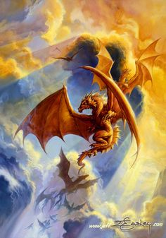 Dragon Dawn by Jeff Easley