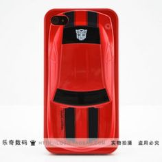 [Red] Transformers #iPhone 4/4S Case
