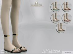 The Sims Resource: Madlen Lucrezia Shoes by MJ95 • Sims 4 Downloads