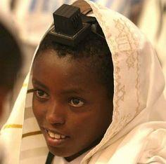 Ethiopian boy in Israel