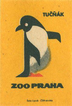Vintage Czech Matchbox Labels