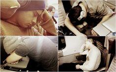 boys sleep alot..